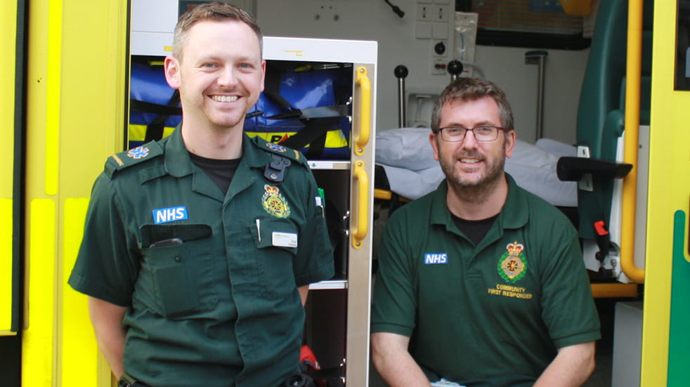 Volunteer for the NHS - Community First Responder and Paramedic